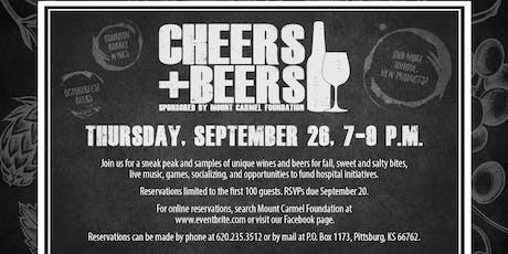 Mount Carmel Foundation Cheers + Beers:  Wine & Beer Tasting tickets