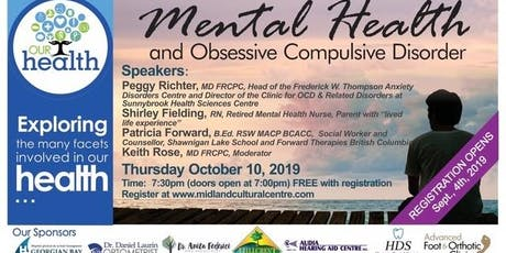 Our Health: Mental Health and Obsessive Compulsive Disorder tickets