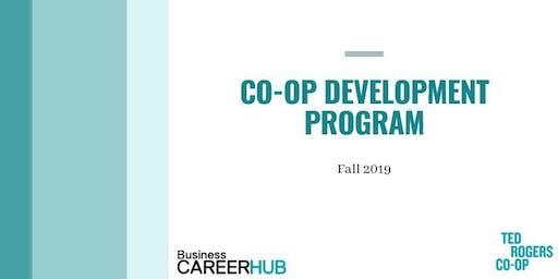 Co-op 101: Co-op Development Program Session #7 | Aug. 27th 2019