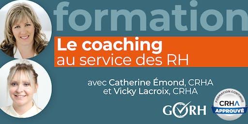 Le coaching au service des RH
