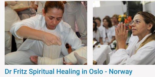 Free Spiritual Healing with Eliane Goncalves via Dr Fritz
