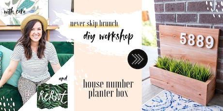 DIY WORKSHOP —Modern Planter Box  tickets