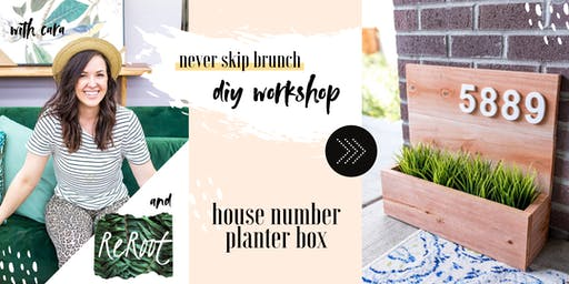 DIY WORKSHOP —Modern Planter Box