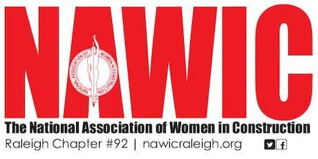 NAWIC September Meeting & Board Installation tickets