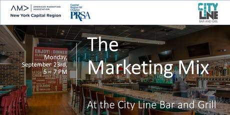 The Marketing Mix at the City Line Bar and Grill tickets