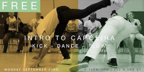 FREE EVENT : Capoeira Dance Class tickets
