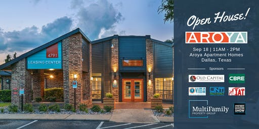 Aroya Apartments Public Open House in Dallas, Texas