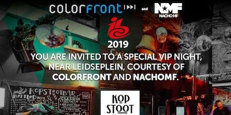 COLORFRONT & NACHO MF IBC VIP PARTY 2019 tickets