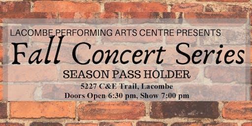 Fall Concert Series Season Pass
