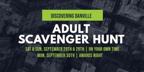 Discovering Danville - Adult Scavenger Hunt - Sept 28th  & Sept 29th tickets