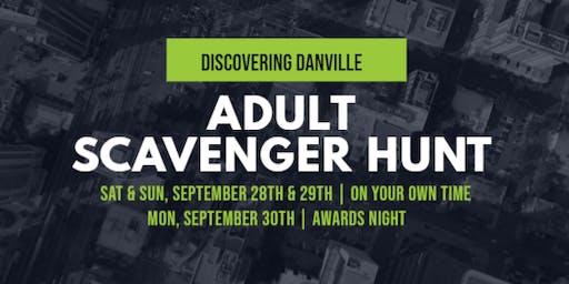 Discovering Danville - Adult Scavenger Hunt - Sept 28th  & Sept 29th
