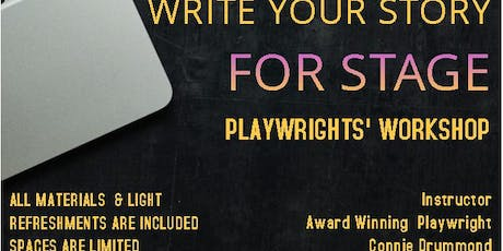 Write Your Story for Stage Playwrights' Workshop tickets