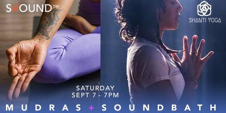 Meditation Mudras + SOUNDBATH tickets