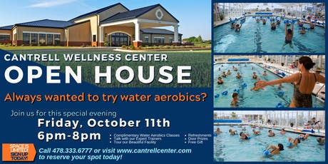 Cantrell Wellness Center Open House tickets
