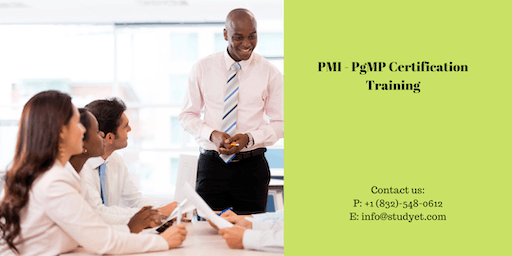PgMP Classroom Training in Lynchburg, VA