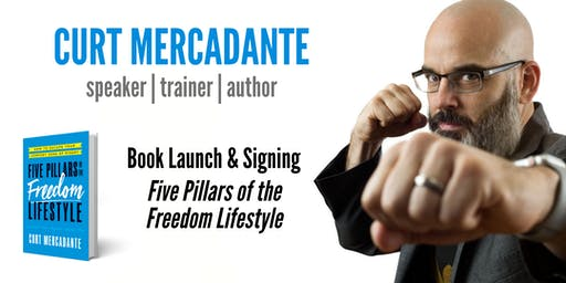 Book Launch Party: Five Pillars of the Freedom Lifestyle