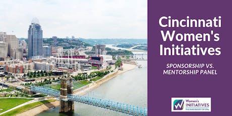 Women's Initiatives Panel: Sponsorship vs. Mentorship tickets