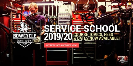 2019/20 Bow Cycle Complete Overhaul Course tickets