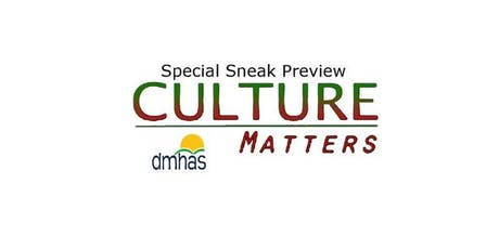 Special Sneak Preview: Culture Matters tickets