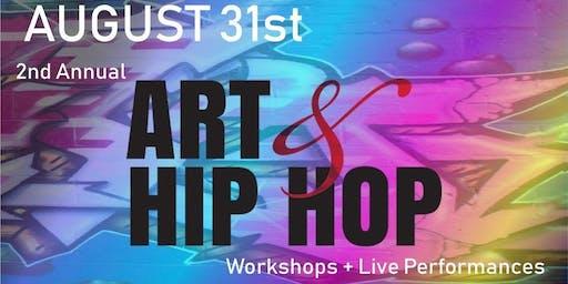 2nd Annual Art & Hip Hop Show