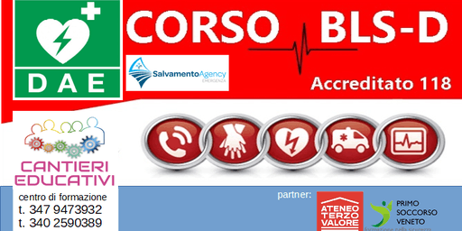 CORSO BLSD Adulto Pediatrico - Vedelago - Treviso