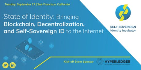 The State of Decentralized Identity tickets