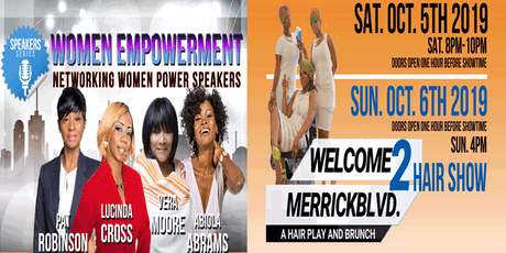Women Empowerment: Power Speakers + Hair Show & Brunch: 2 Days, 2 Events tickets