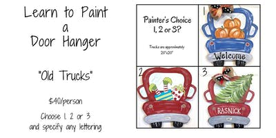 Old Trucks Paint Party