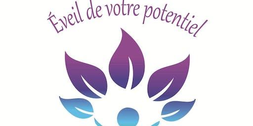 Ateliers ÉVEIL DE VOTRE POTENTIEL, inclut  1er cours GRATUIT (dépôt de 15$)