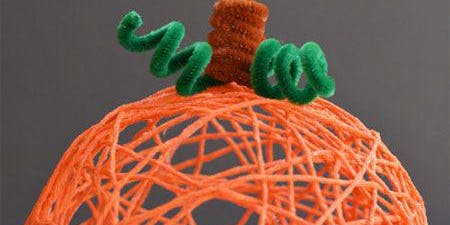 Yarn Pumpkins - St. Paul Branch
