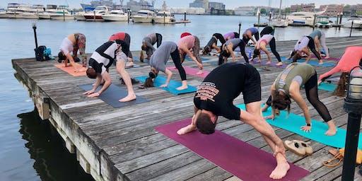 Yoga Happy Hour at Pitango