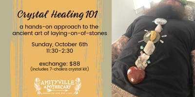 Crystal Healing 101- a practical approach to laying on of stones