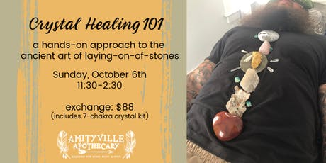 Crystal Healing 101- a practical approach to laying on of stones tickets