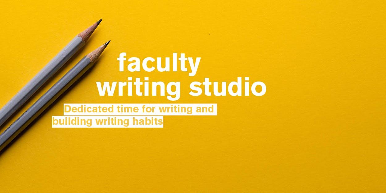 Faculty Writing Studio