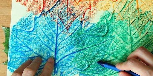 Moana Kids Club: Leaf Tracing