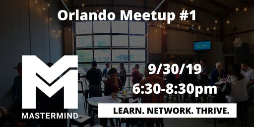 Orlando Home Service Professional Networking Meetup  #1