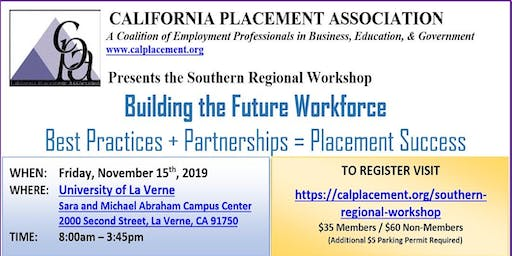 CPA 2019 Southern Regional Workshop
