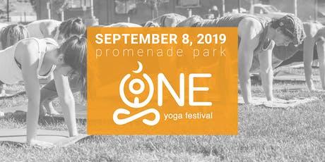 ONE Yoga Festival tickets