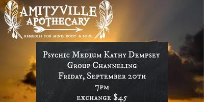 Group Channeling with Psychic Medium Kathy Dempsey