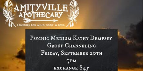 Group Channeling with Psychic Medium Kathy Dempsey tickets