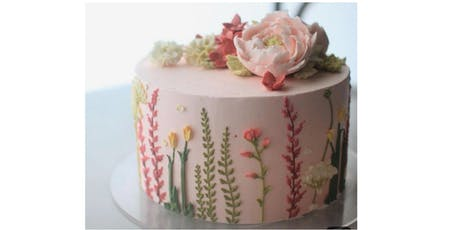 Piping Techniques Adult Cake decorating class tickets