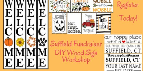 Suffield Family Fundraiser: DIY Sign Workshop tickets