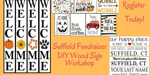 Suffield Family Fundraiser: DIY Sign Workshop