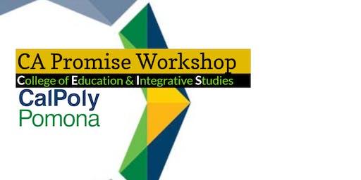 CA Promise Program: New Students in the Program