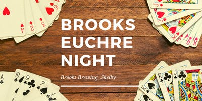 Euchre Night at Brooks Brewing, Shelby