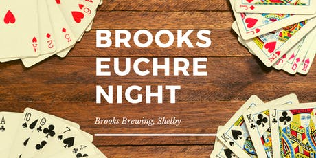 Euchre Night at Brooks Brewing, Shelby tickets