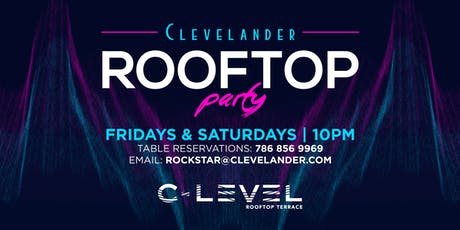 C-LEVEL Rooftop Party  tickets