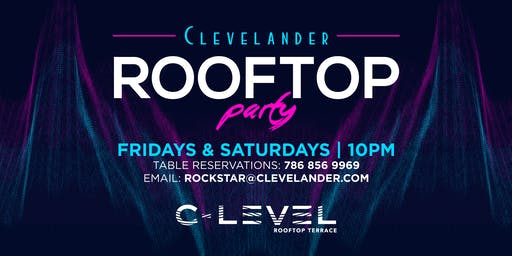 C-LEVEL Rooftop Party