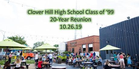 Clover Hill High School Class of '99 Reunion tickets