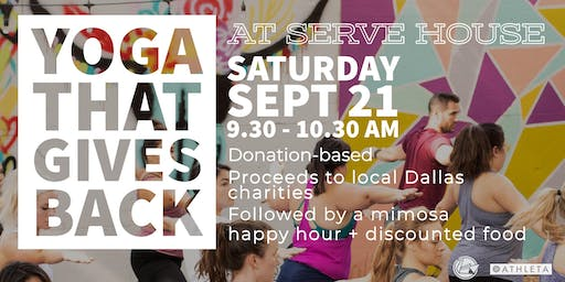 Yoga That Gives Back